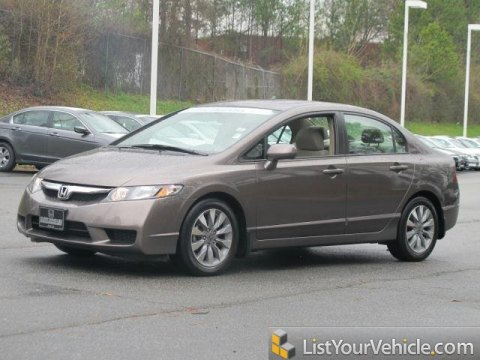 2009 Honda Civic EX Sedan in Urban Titanium Metallic