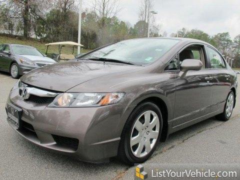 2010 Honda Civic LX Sedan in Urban Titanium Metallic