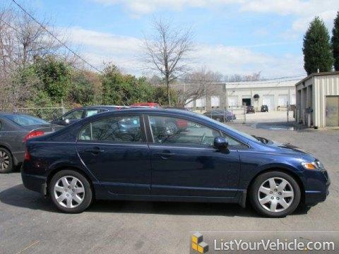 2010 Honda Civic LX Sedan in Royal Blue Pearl