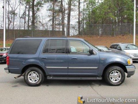 2001 Ford Expedition XLT in Medium Wedgewood Blue Metallic