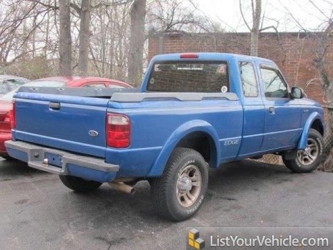 2002 Ford Ranger Edge SuperCab in Bright Island Blue Metallic
