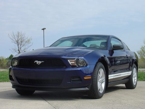 2012 Ford Mustang V6 Coupe in Kona Blue Metallic