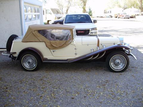 1935 Mercedes-Benz SSK Gazelle Kit Car in Tan/Brown
