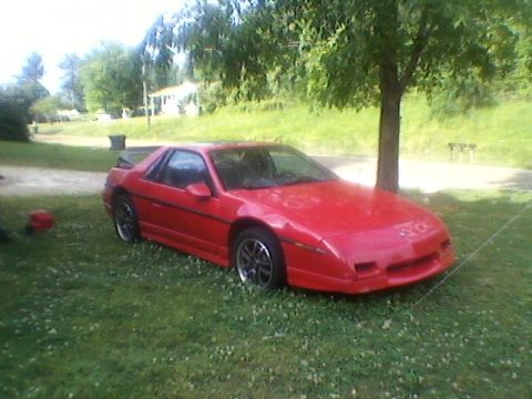 1985 Pontiac Fiero GT in Red