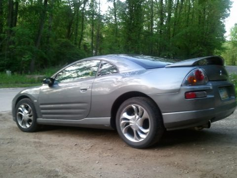 2003 Mitsubishi Eclipse GTS Coupe in Titanium Pearl