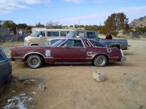 1979 Ford Thunderbird 2 Door Coupe in Maroon