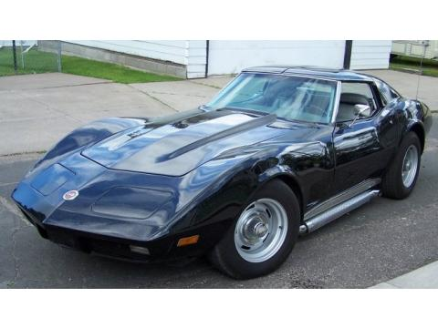 1974 Chevrolet Corvette Stingray Coupe in Black