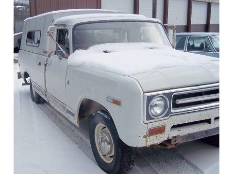 1969 International Pickup 1/2 Ton in White