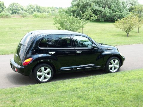 2003 Chrysler PT Cruiser GT in Black
