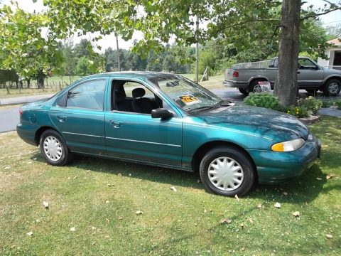 1997 Ford Contour GL in Pacific Green Metallic