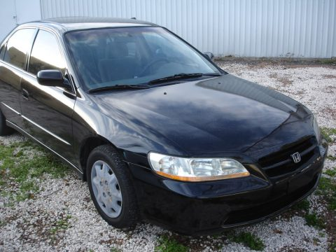 1998 Honda Accord LX Sedan in Flamenco Black Pearl