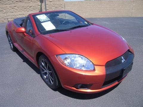 2011 Mitsubishi Eclipse Spyder GS Sport in Sunset Pearlescent