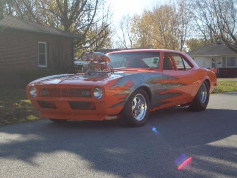 1968 Chevrolet Camaro Pro Street in Orange