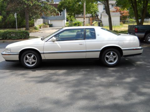 1994 Cadillac Eldorado Coupe in White