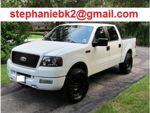 2004 Ford F150 Lariat SuperCrew 4x4 in Oxford White