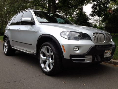 2007 BMW X5 4.8i in Titanium Silver Metallic