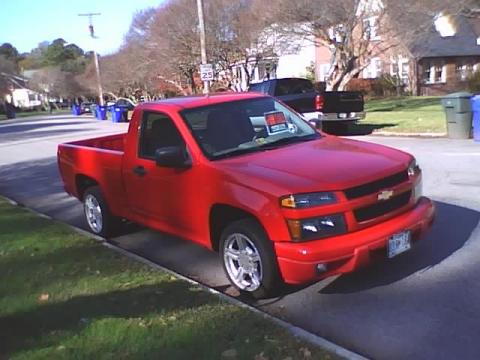 2004 Chevrolet Colorado  in Victory Red
