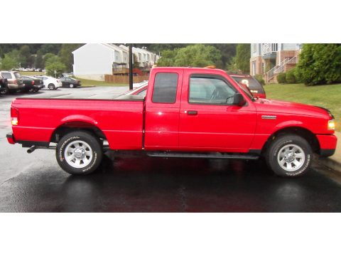 2011 Ford Ranger XLT SuperCab in Torch Red