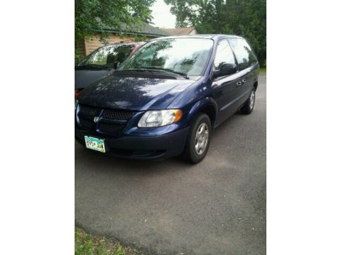 2002 Dodge Caravan SE in Patriot Blue Pearl