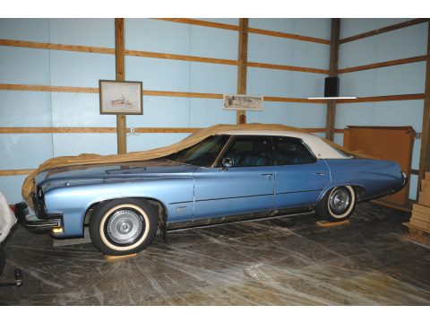 1973 Buick Centurion 4 Door Sedan in Medium Blue