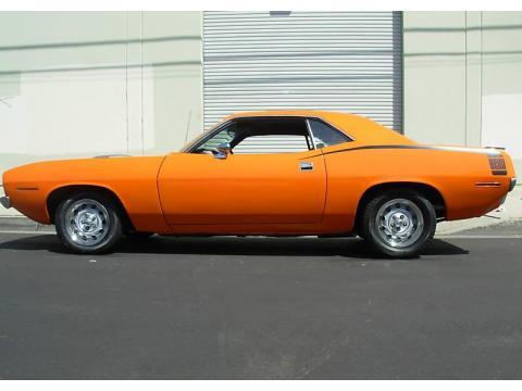 1970 Plymouth Cuda  in Orange