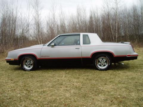 1984 Oldsmobile Cutlass Hurst/Olds in Silver/Black