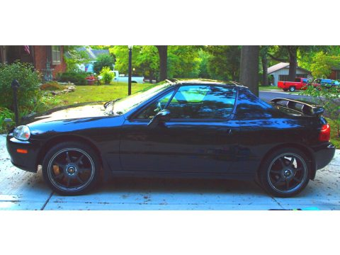 1995 Honda Del Sol Si in Black Custom