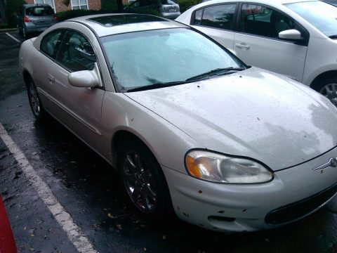 2002 Chrysler Sebring LXi Coupe in Stone White