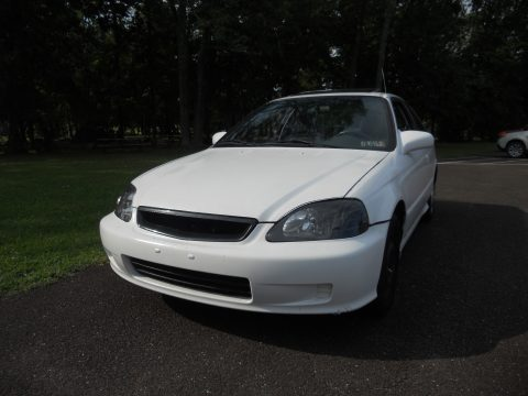2000 Honda Civic EX Coupe in Taffeta White