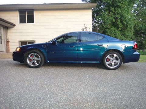 2006 Pontiac Grand Prix GXP Sedan in Blue Green Crystal