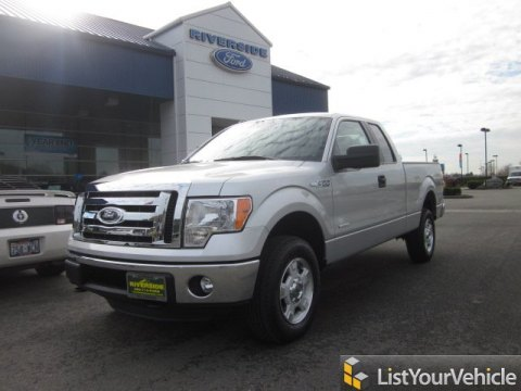 2012 Ford F150 XLT SuperCab 4x4 in Ingot Silver Metallic
