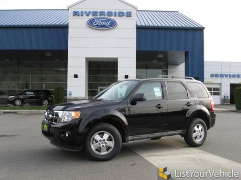 2012 Ford Escape XLT in Ebony Black