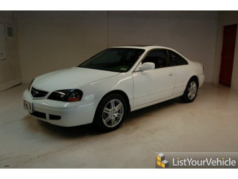 2003 Acura CL 3.2 Type S in Taffeta White