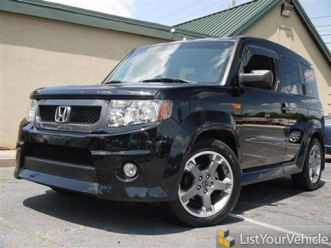 2010 Honda Element SC in Crystal Black Pearl