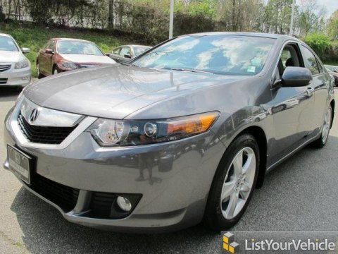 2010 Acura TSX Sedan in Polished Metal Metallic