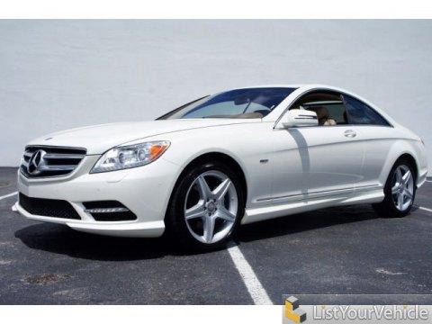 2011 Mercedes-Benz CL 550 4MATIC in Diamond White Metallic