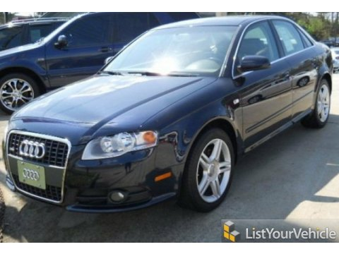 2008 Audi A4 2.0T Sedan in Deep Sea Blue Pearl Effect