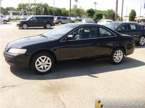 2001 Honda Accord EX V6 Coupe in Nighthawk Black Pearl