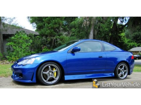 2002 Acura RSX Type S Sports Coupe in Arctic Blue Pearl