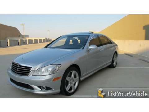 2007 Mercedes-Benz S 550 Sedan in Iridium Silver Metallic