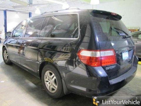 2007 Honda Odyssey EX-L in Nighthawk Black Pearl