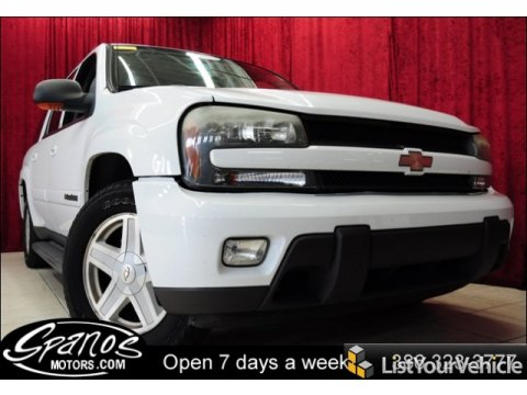 2002 Chevrolet TrailBlazer EXT LT in Summit White