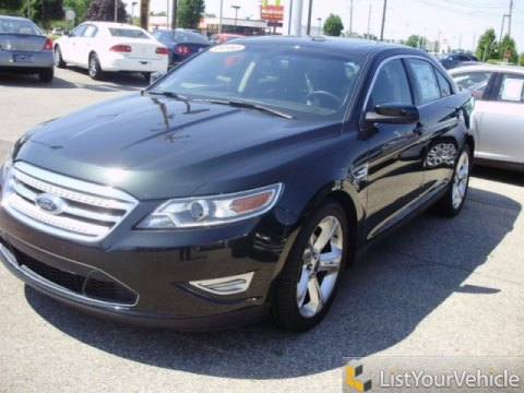 2010 Ford Taurus SHO AWD in Atlantis Green Metallic