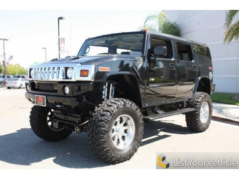 2005 Hummer H2 SUV in Black