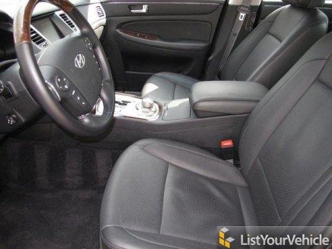 2011 Hyundai Genesis 4.6 Sedan in Black Noir Pearl
