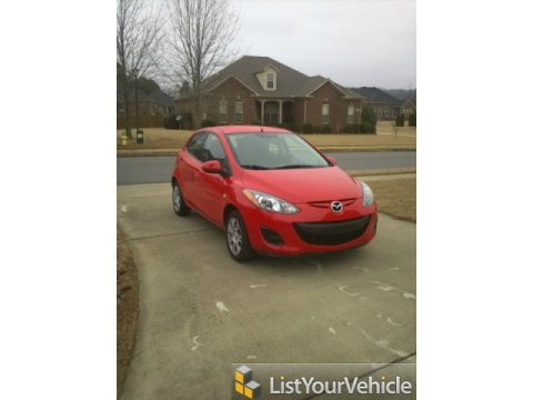 2011 Mazda MAZDA2 Sport in True Red