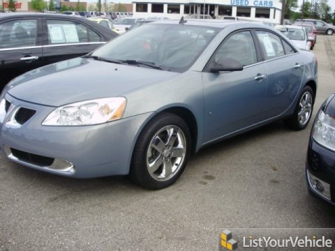 2009 Pontiac G6 V6 Sedan in Blue Gold Crystal Metallic