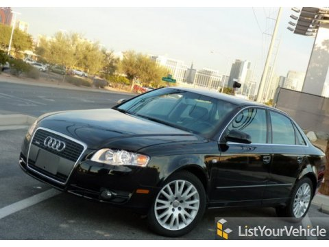 2007 Audi A4 2.0T quattro Sedan in Phantom Black Pearl Effect