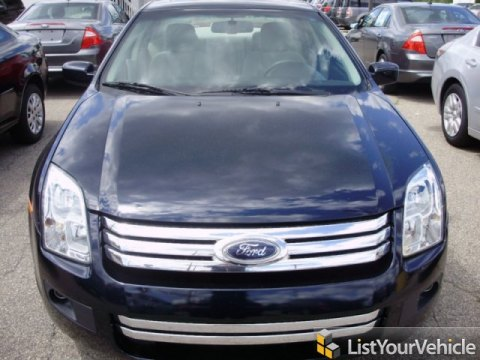 2009 Ford Fusion SE in Dark Blue Ink Metallic