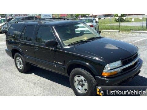 2002 Chevrolet Blazer LS 4x4 in Onyx Black